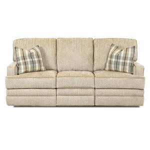 Klaussner Chapman Casual Power Reclining Sofa