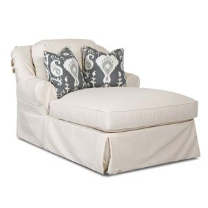 Klaussner Charleston Chaise Lounge