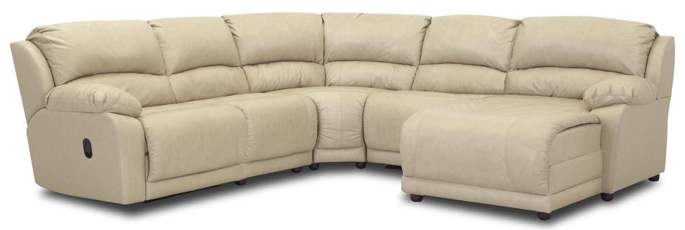 Five Piece Sectional Sofa with Chaise