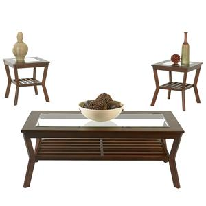 Klaussner International Clifton Cocktail and End Table Group
