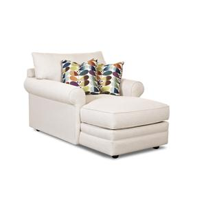 Klaussner Comfy Chaise Lounge