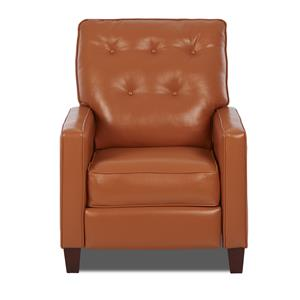 Klaussner Cutlass Traditional High Leg Reclining Chair