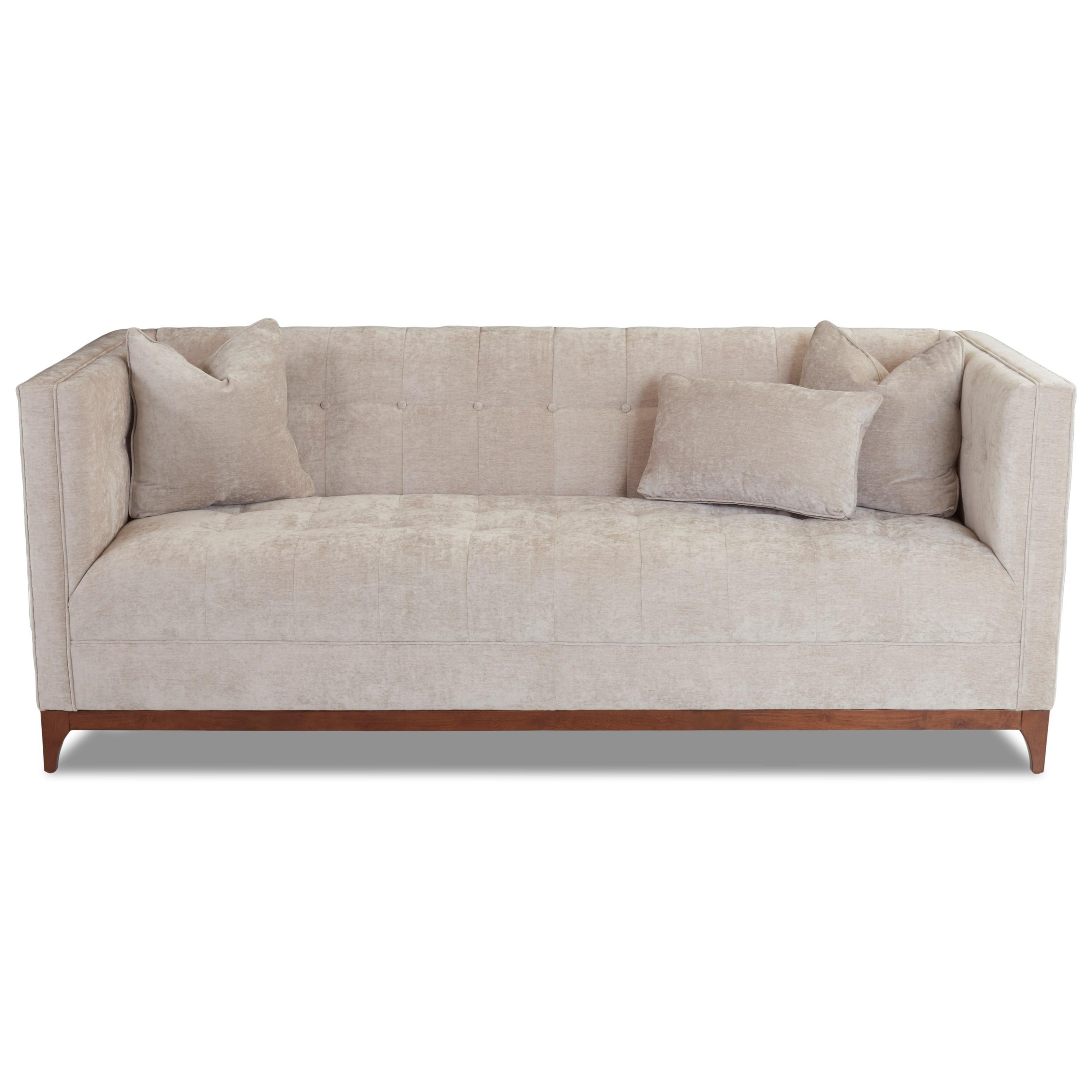 Contemporary Tuxedo Sofa by Klaussner