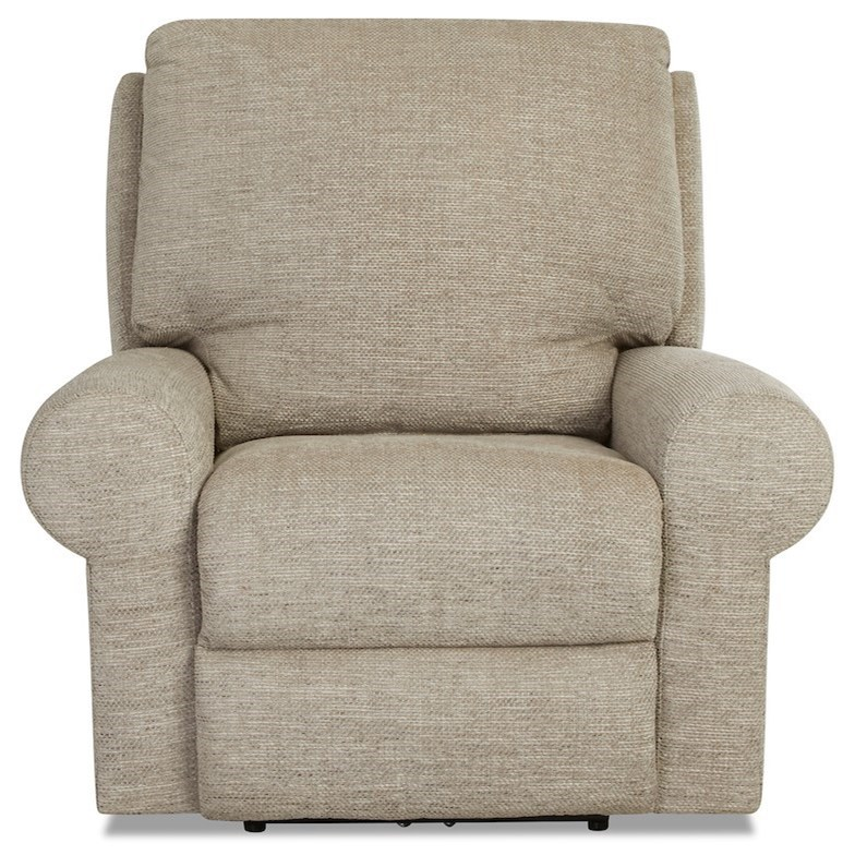 Casual Tailored Rocker Recliner with Kool Gel Cushion