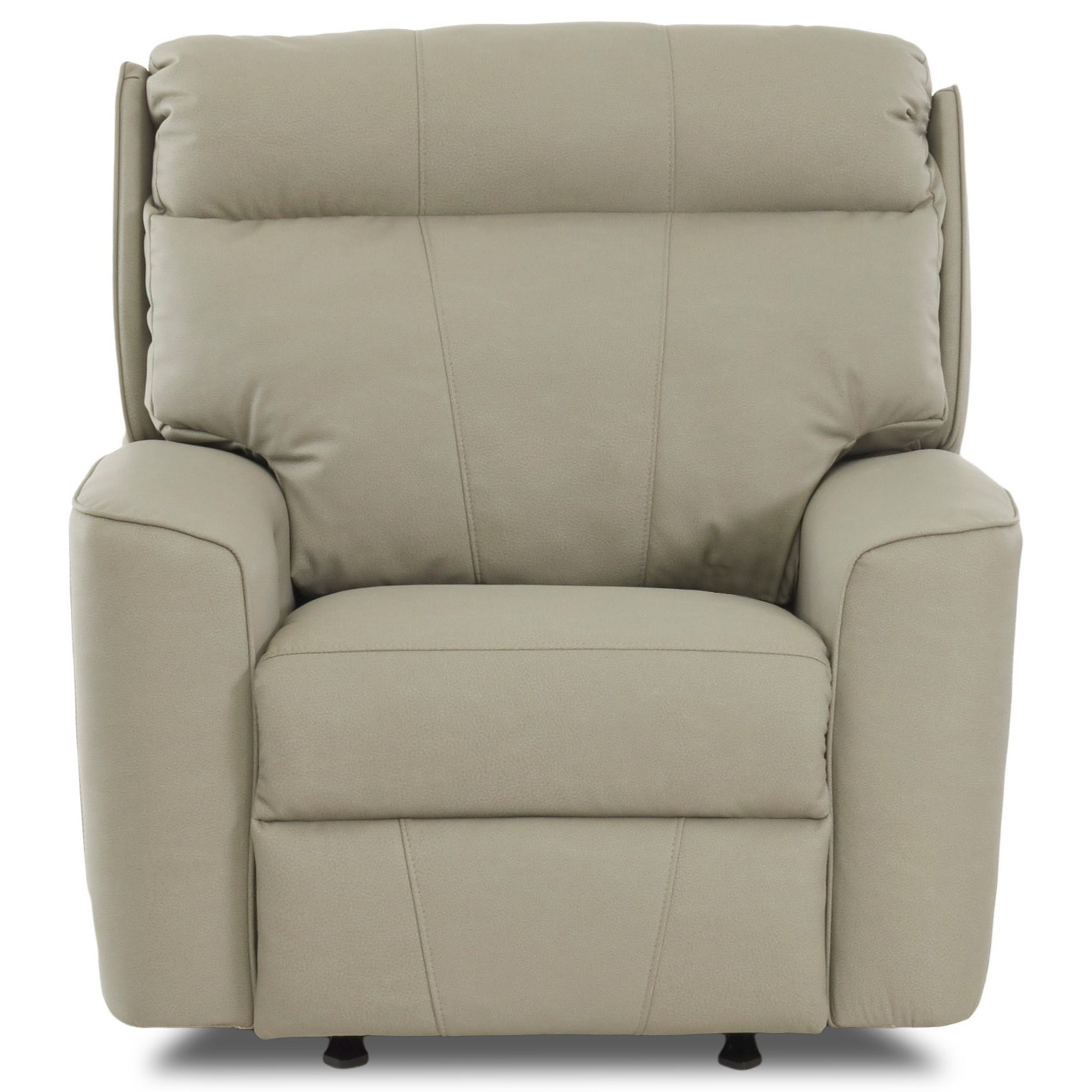 Casual Power Reclining Chair with USB Port and Bluetooth Capability