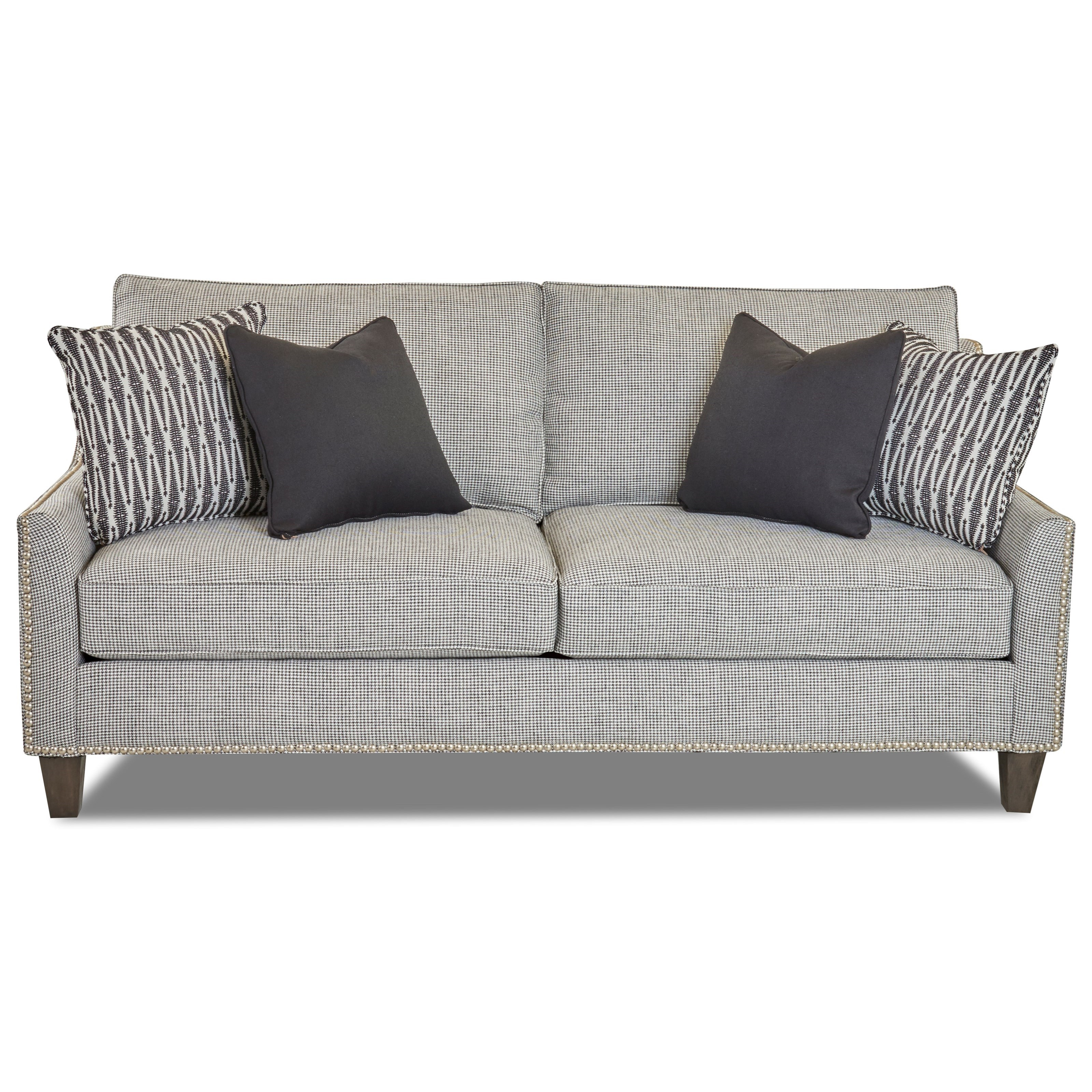 Transitional Apartment-Sized Sofa with Nailhead Trim by ...