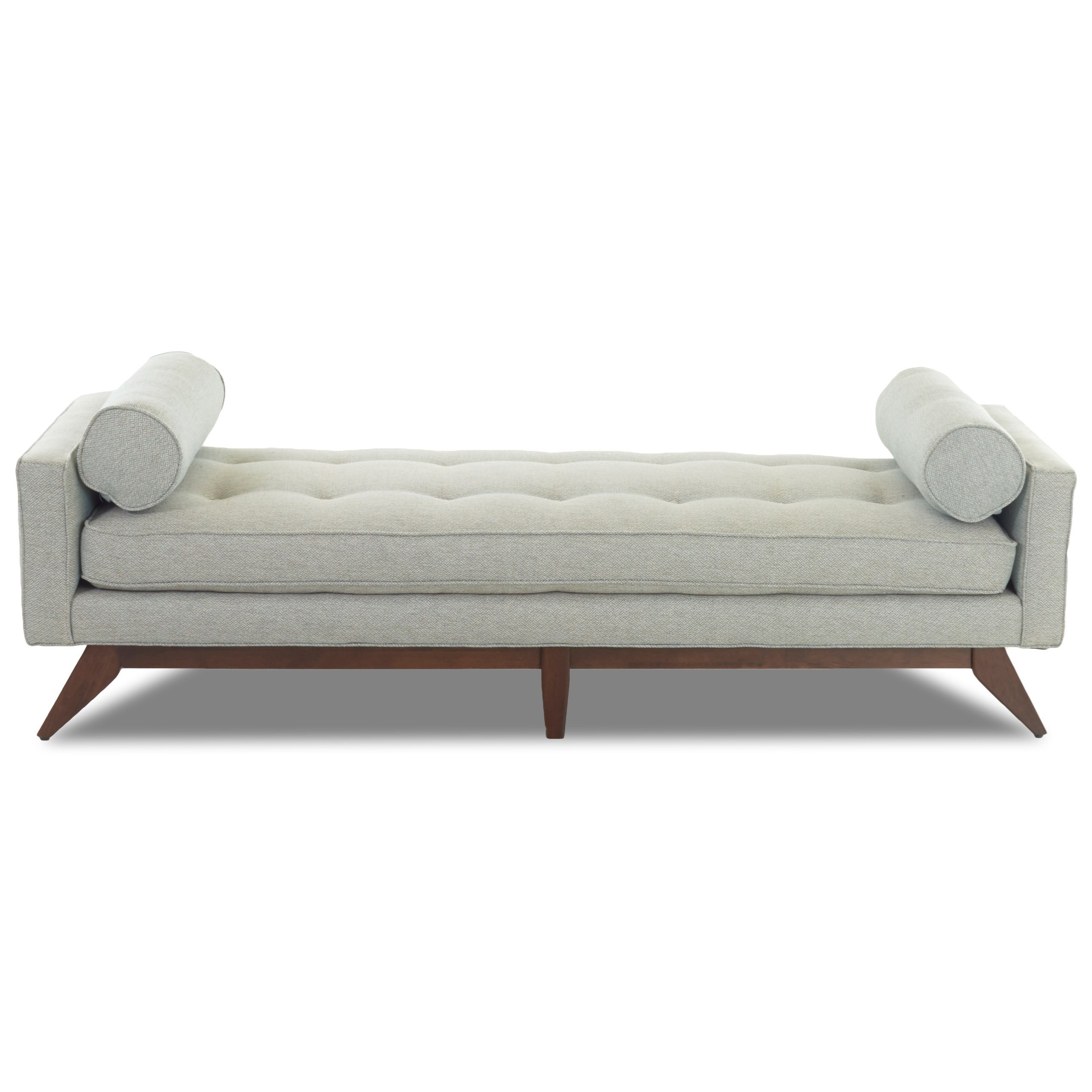 Mid-Century Modern Backless Sofa/Bench By Klaussner