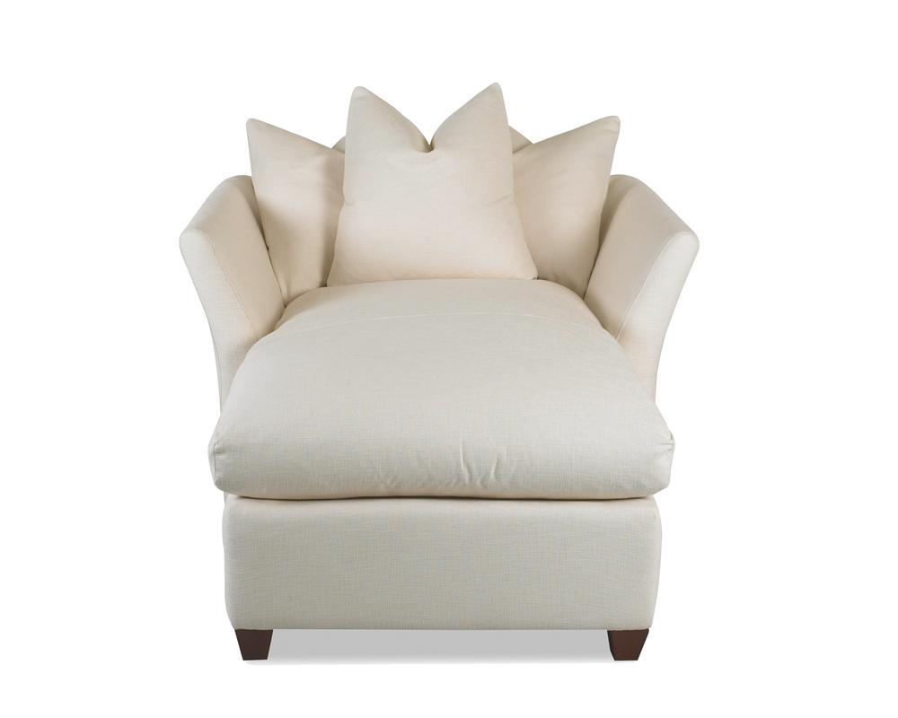 Down Blend Cushion Chaise