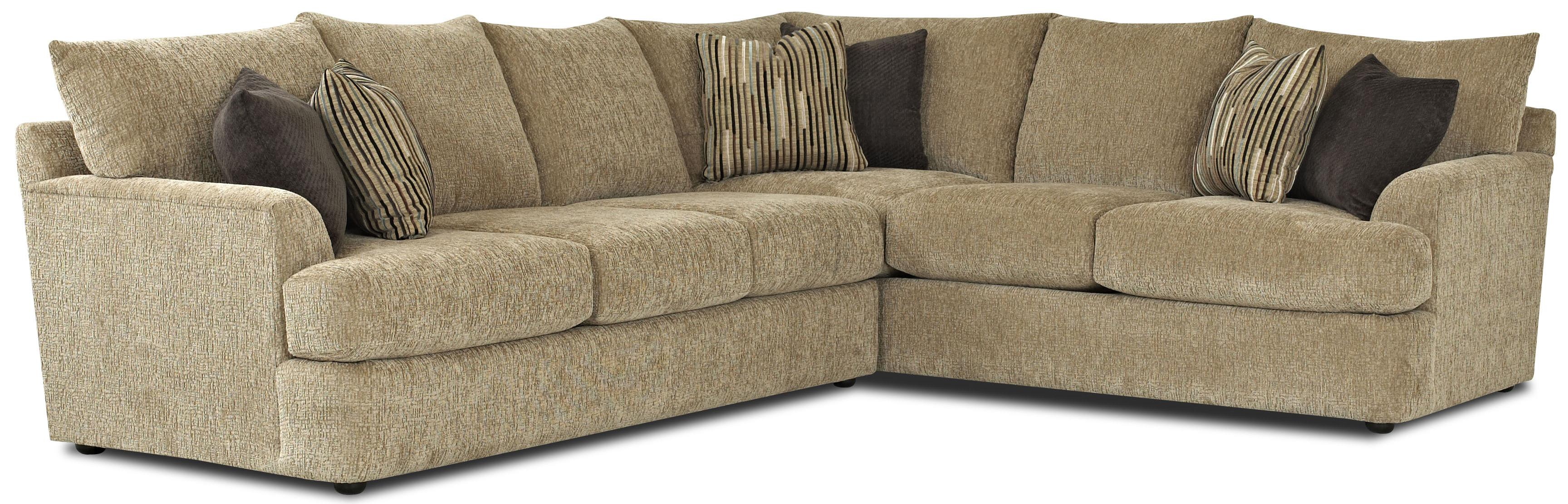 Contemporary L-Shaped Sectional Sofa : l sectional couch - Sectionals, Sofas & Couches