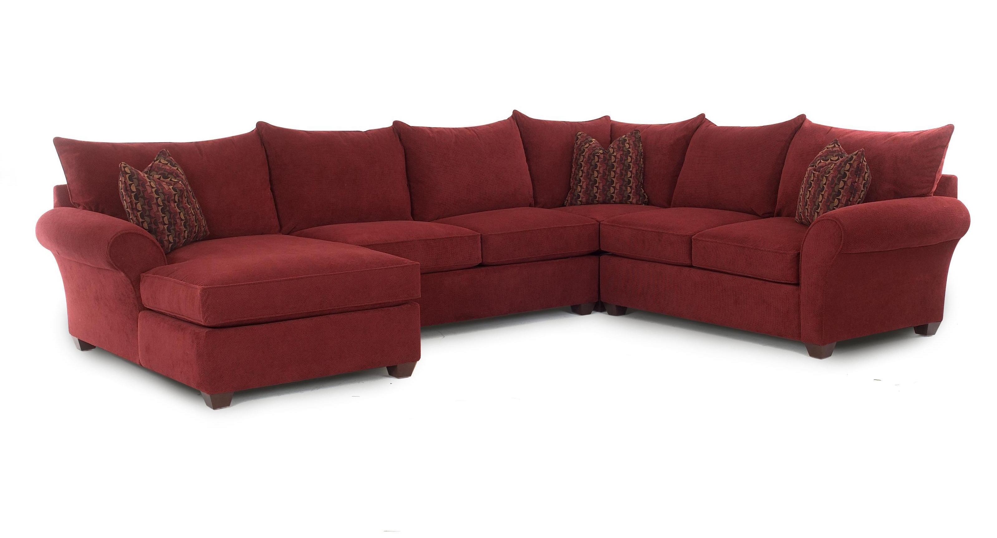 Sectional Sofa with Chaise by Klaussner