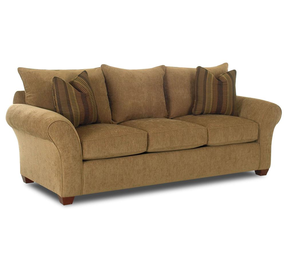 Comfortable Stationary Couch By Klaussner