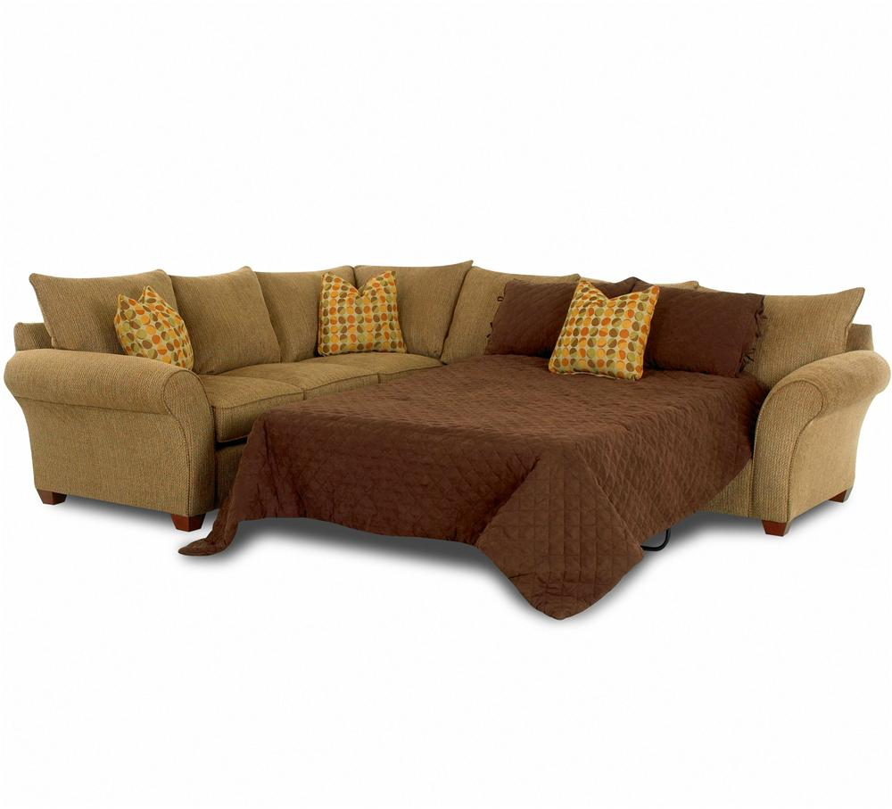 Sofa Sleeper Spacious Sectional by Klaussner | Wolf Furniture