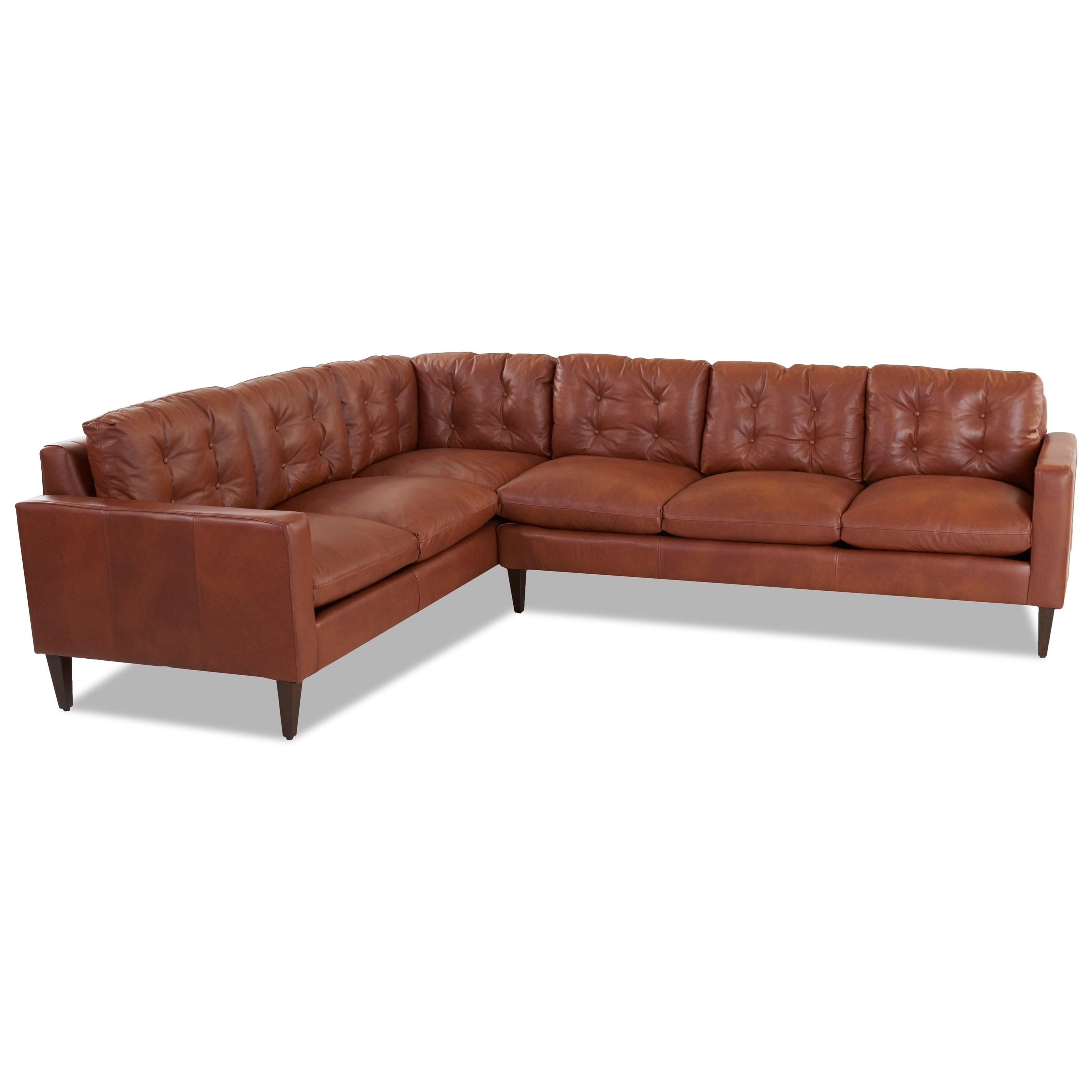 Mid Century Modern Sectional Sofa with Left Arm Facing Corner Sofa ...