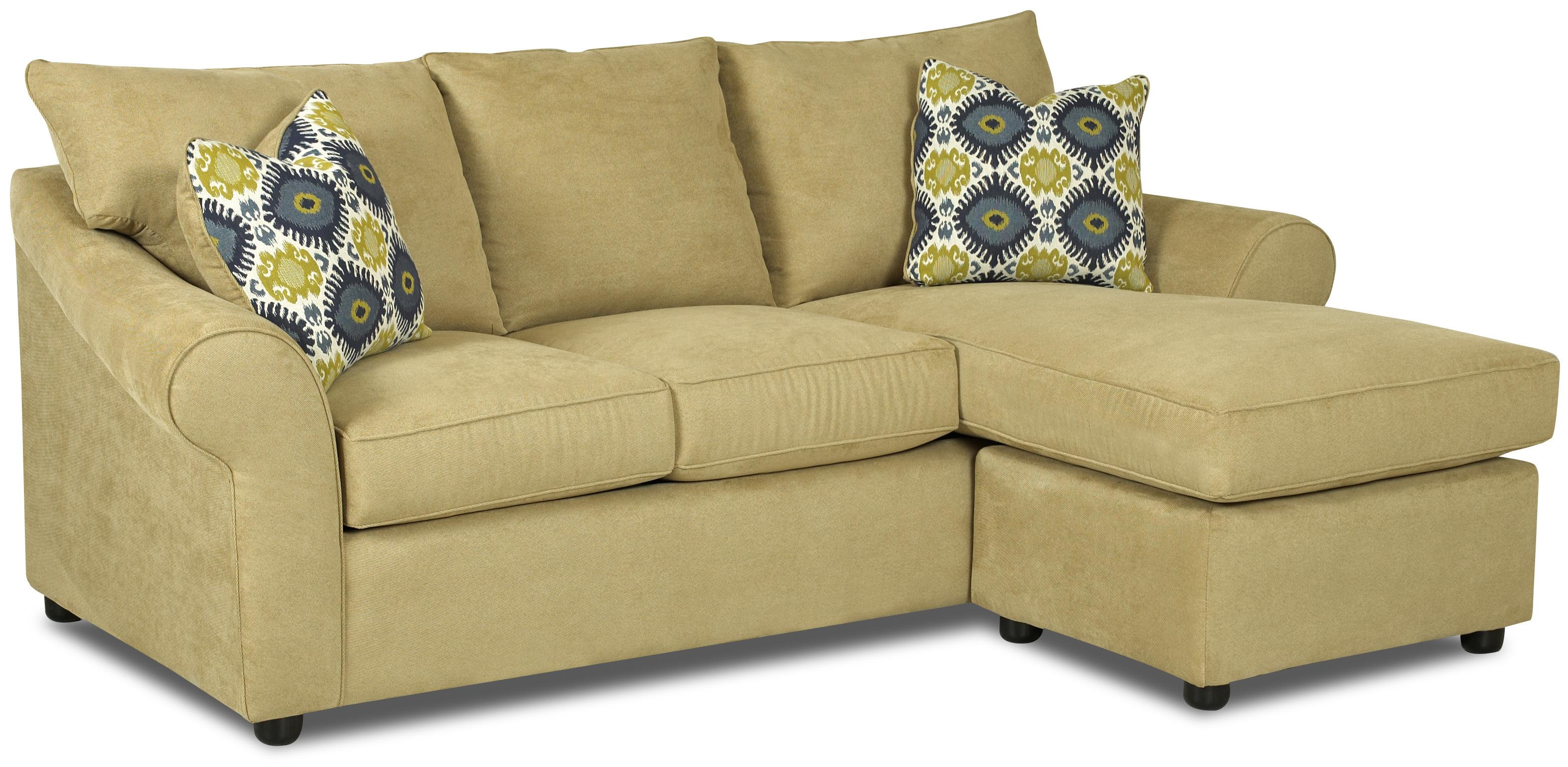 Ordinaire Sofa With Reversible Chaise Lounge