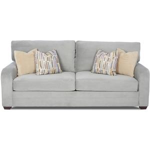 Klaussner Galloway Casual Sleeper Sofa