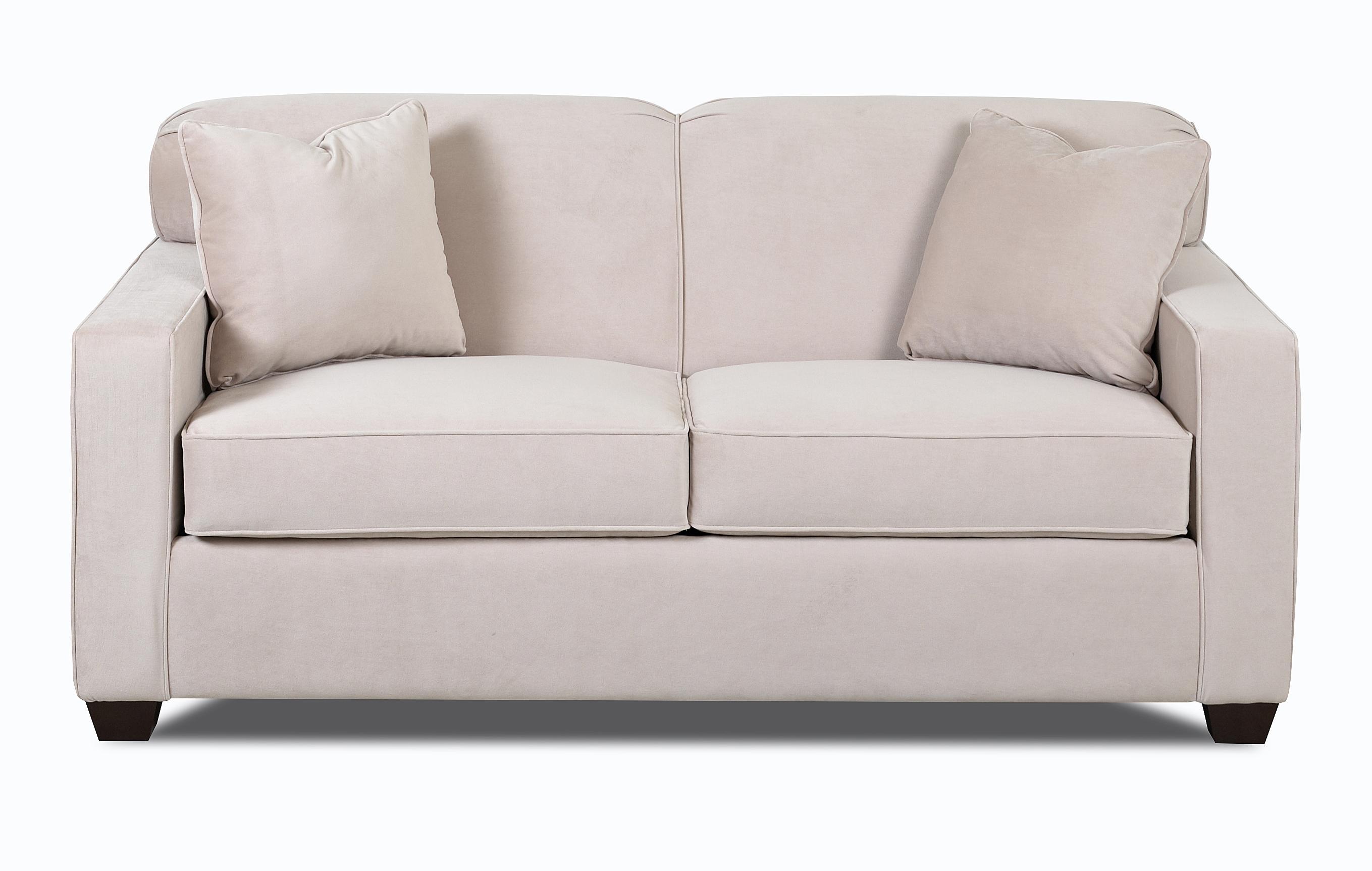 Regular Sleeper Sofa with Air Coil Mattress
