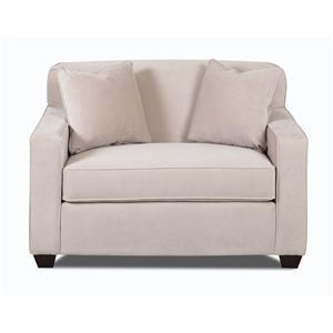 Klaussner Gillis Innerspring Chair Sleeper