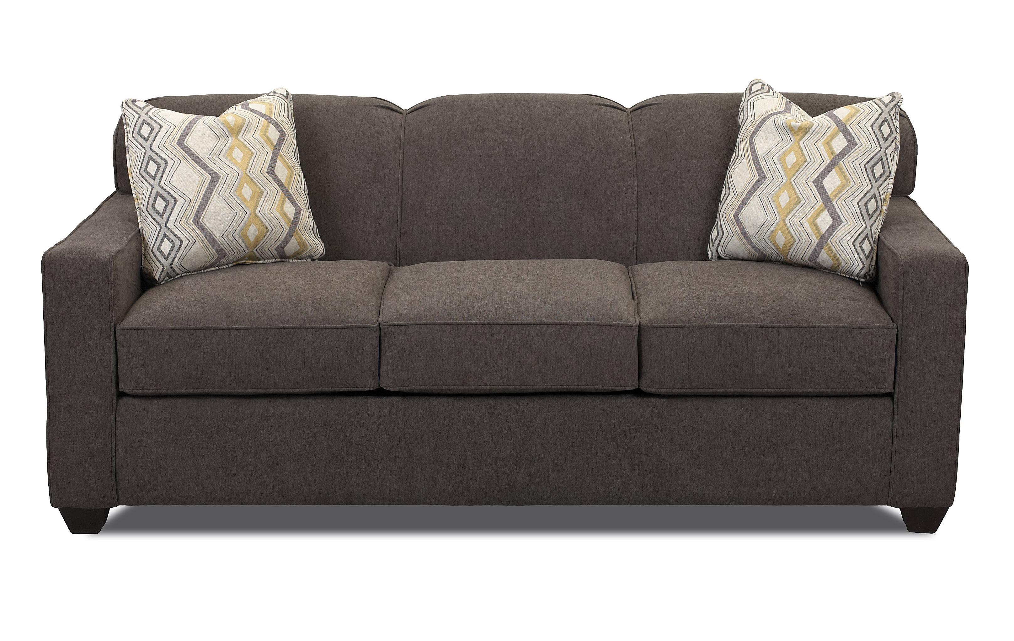 Contemporary Innerspring Queen Sleeper Sofa With Tight
