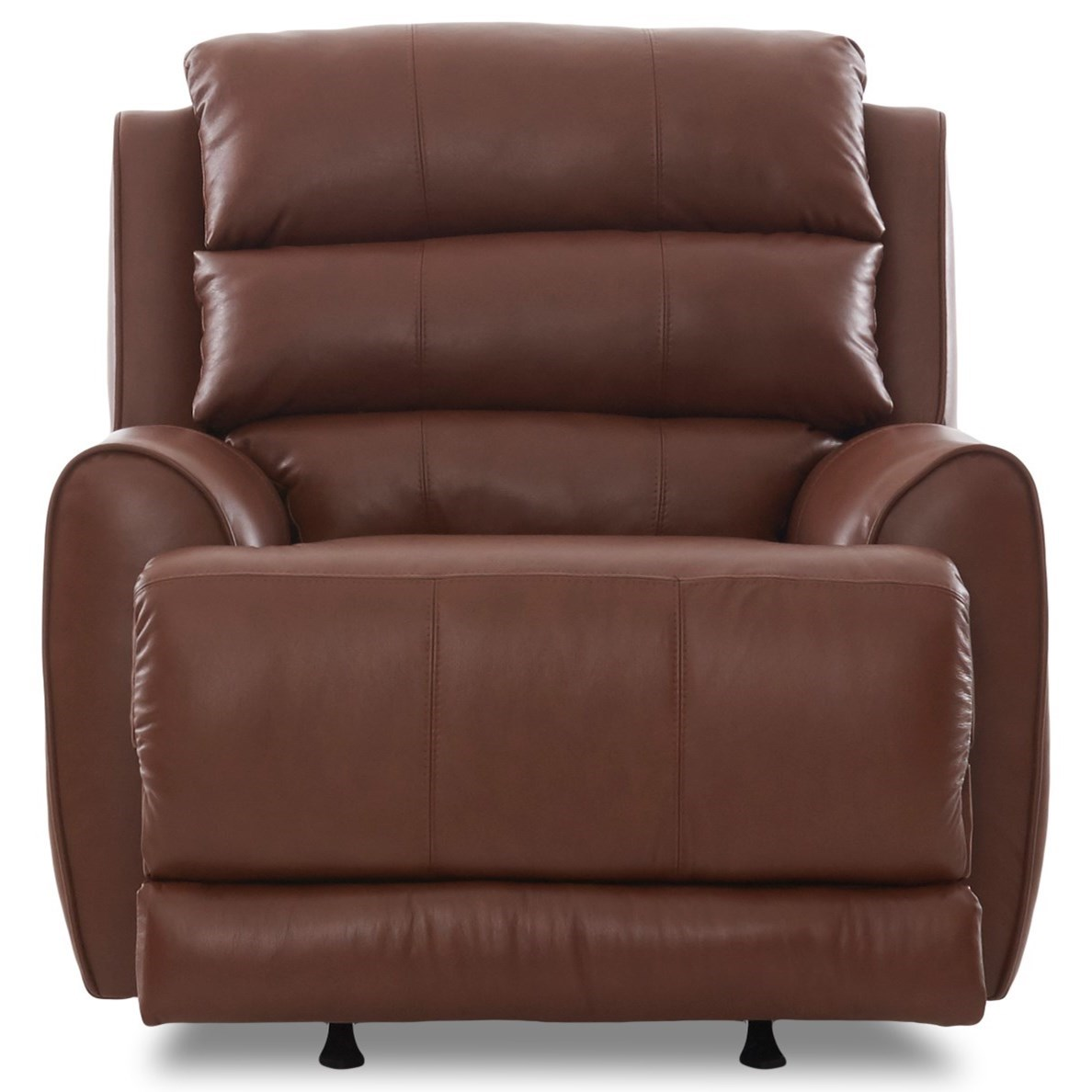 Contemporary Power Rocking Reclining Chair with Power Head/Lumbar, USB Port, and Bluetooth Functionality