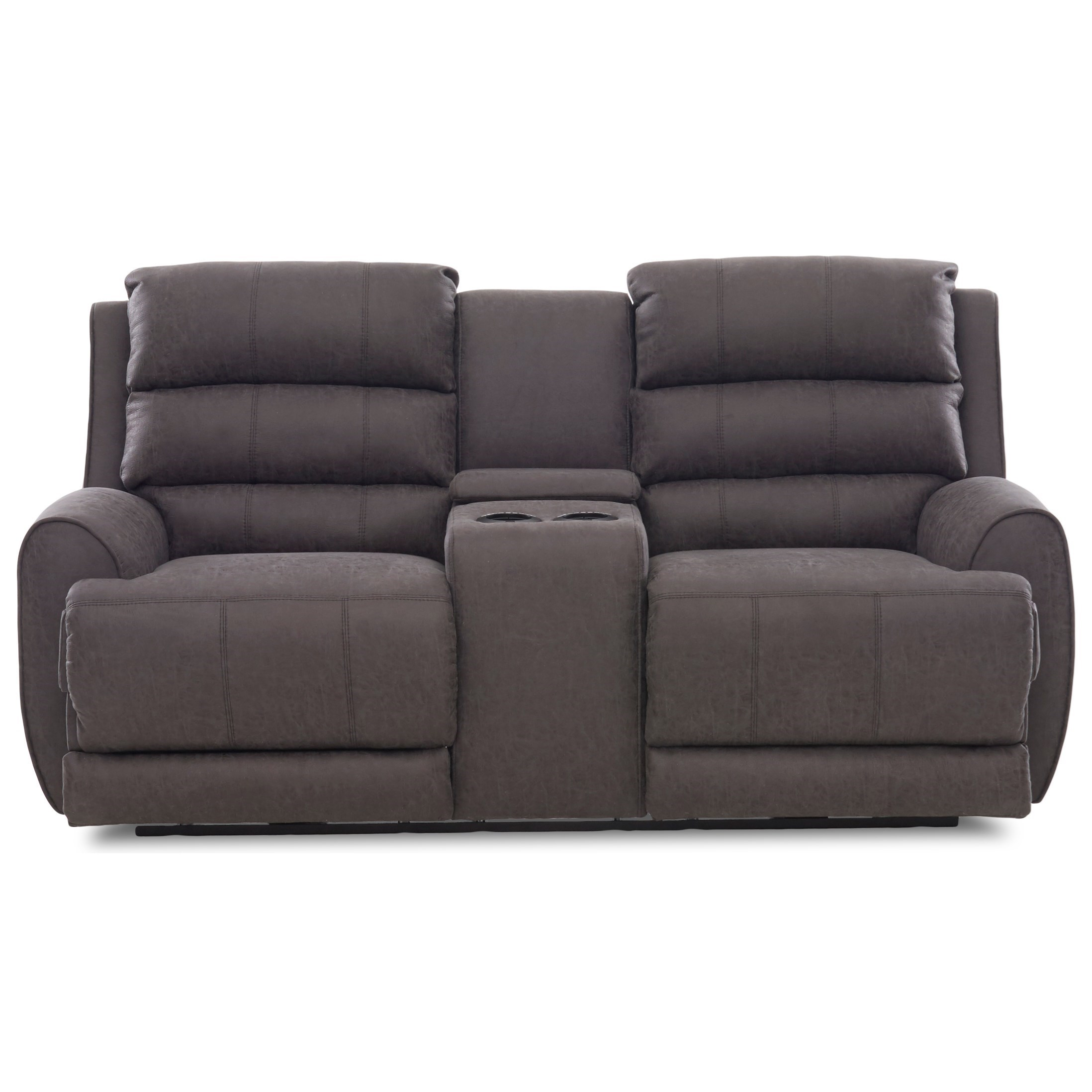 Amazing Contemporary Power Reclining Console Loveseat With Power Bralicious Painted Fabric Chair Ideas Braliciousco
