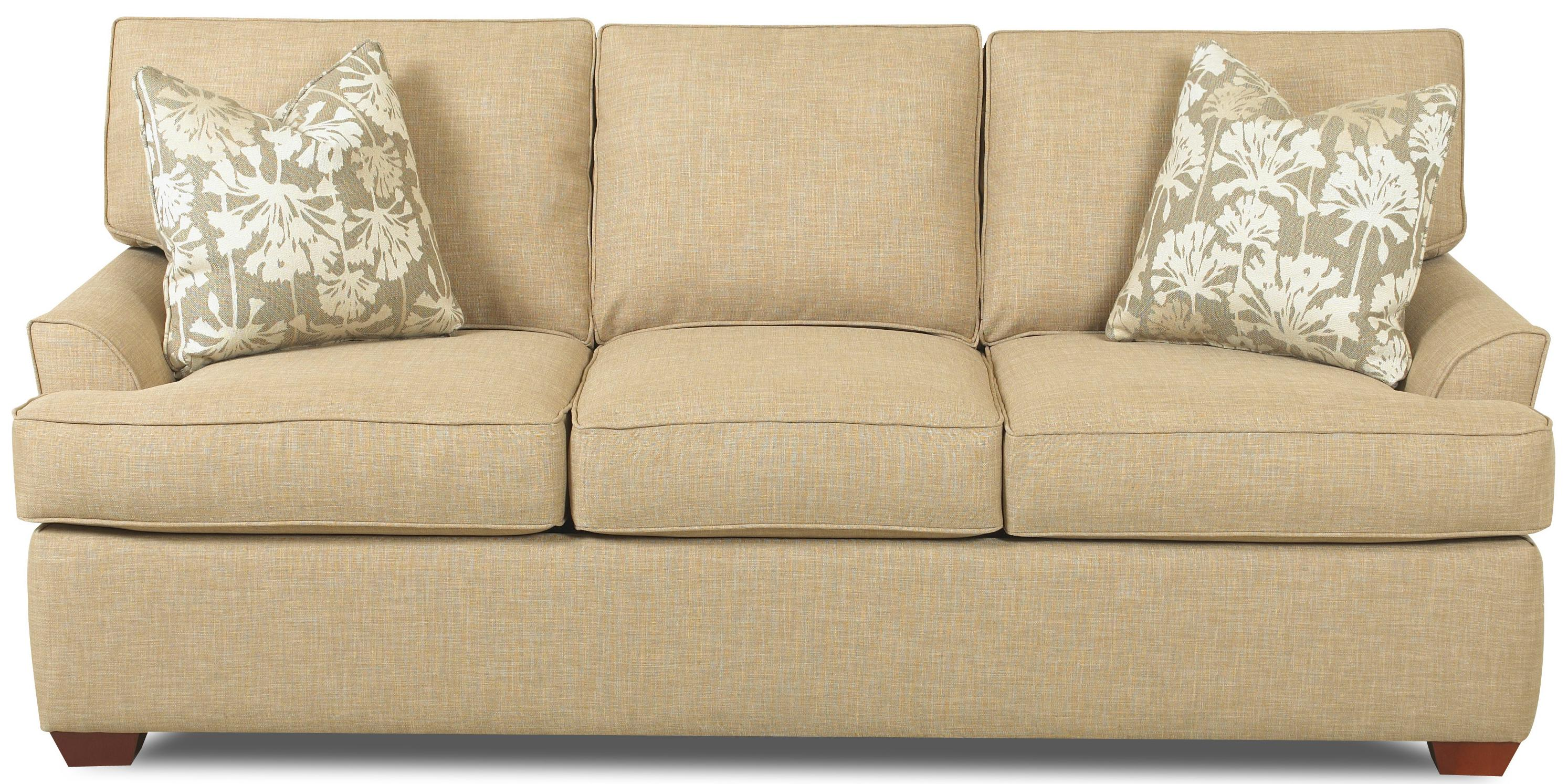 Contemporary Sectional Sofa with Left Chaise by Klaussner