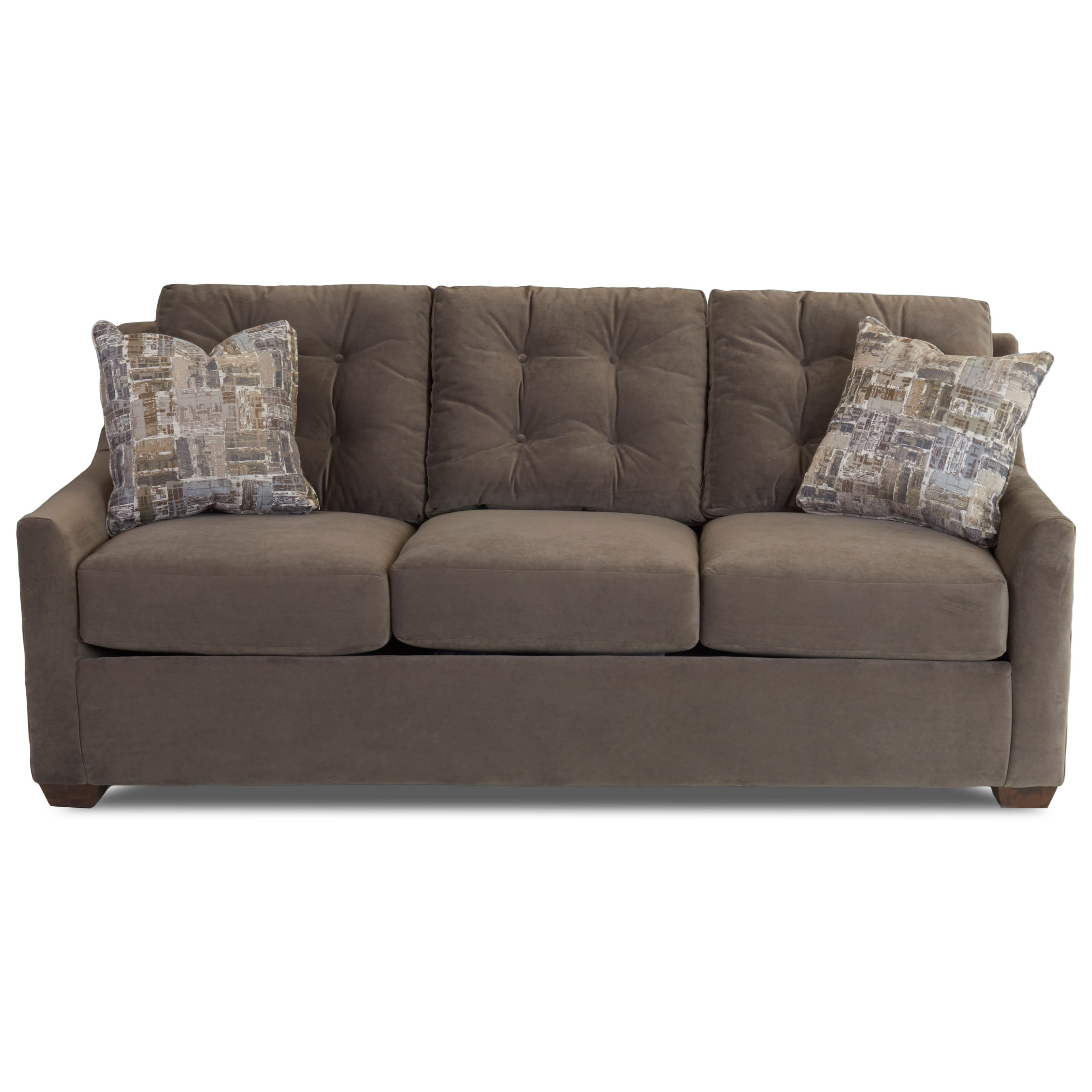 Sofa with Button Tufting and InnerSpring Cushions