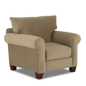 Klaussner Hideaway Upholstered Chair
