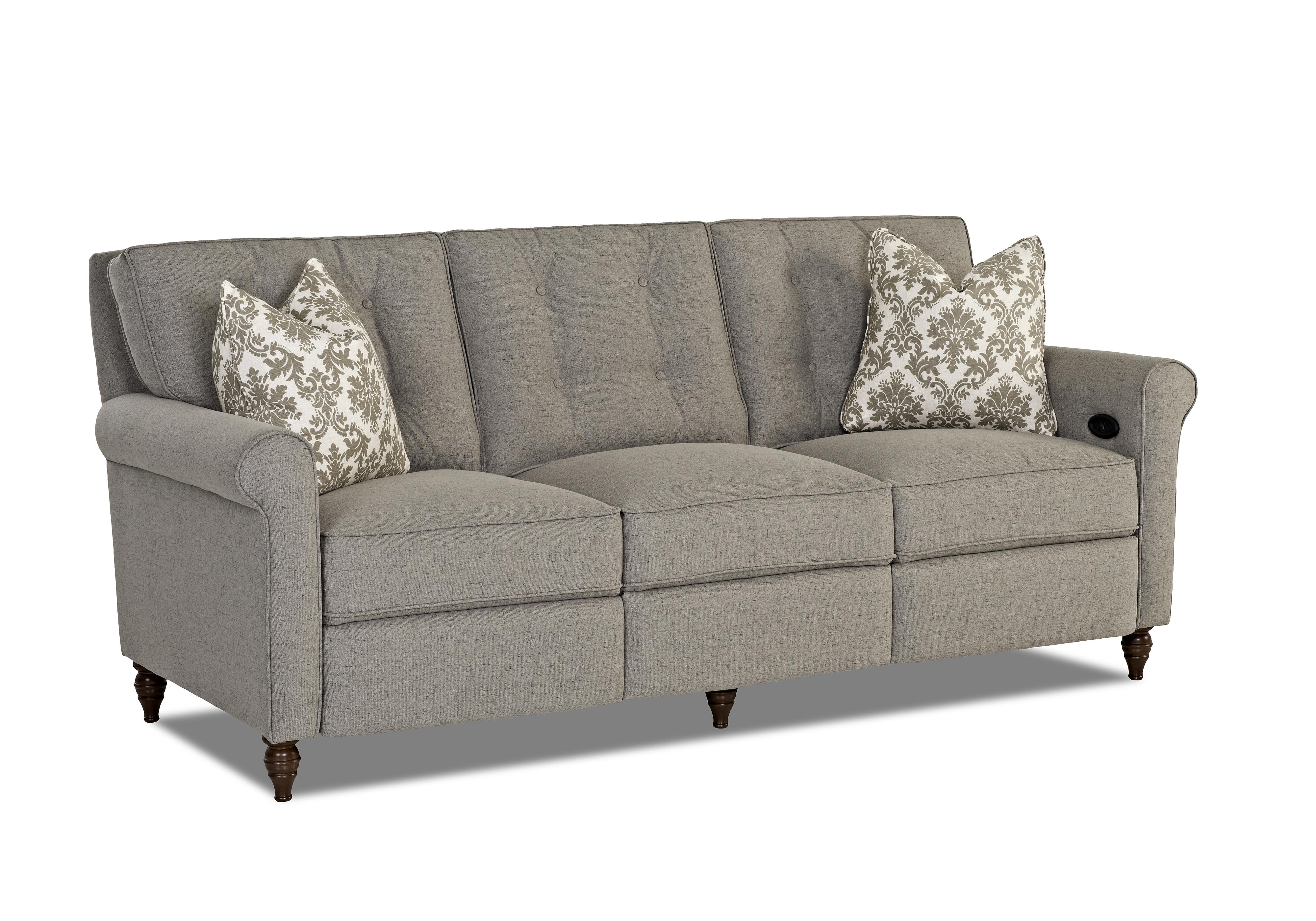 Traditional Power Hybrid Sofa by Klaussner