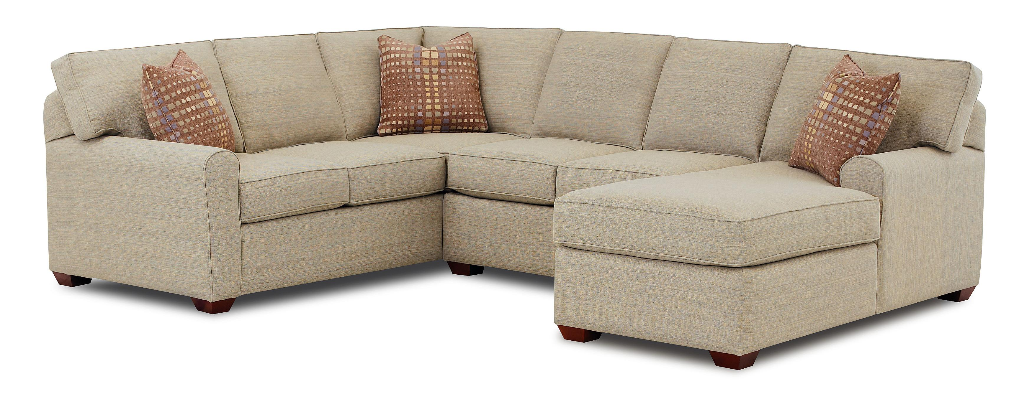 Sectional Sofa with Right Facing Chaise Lounge by Klaussner