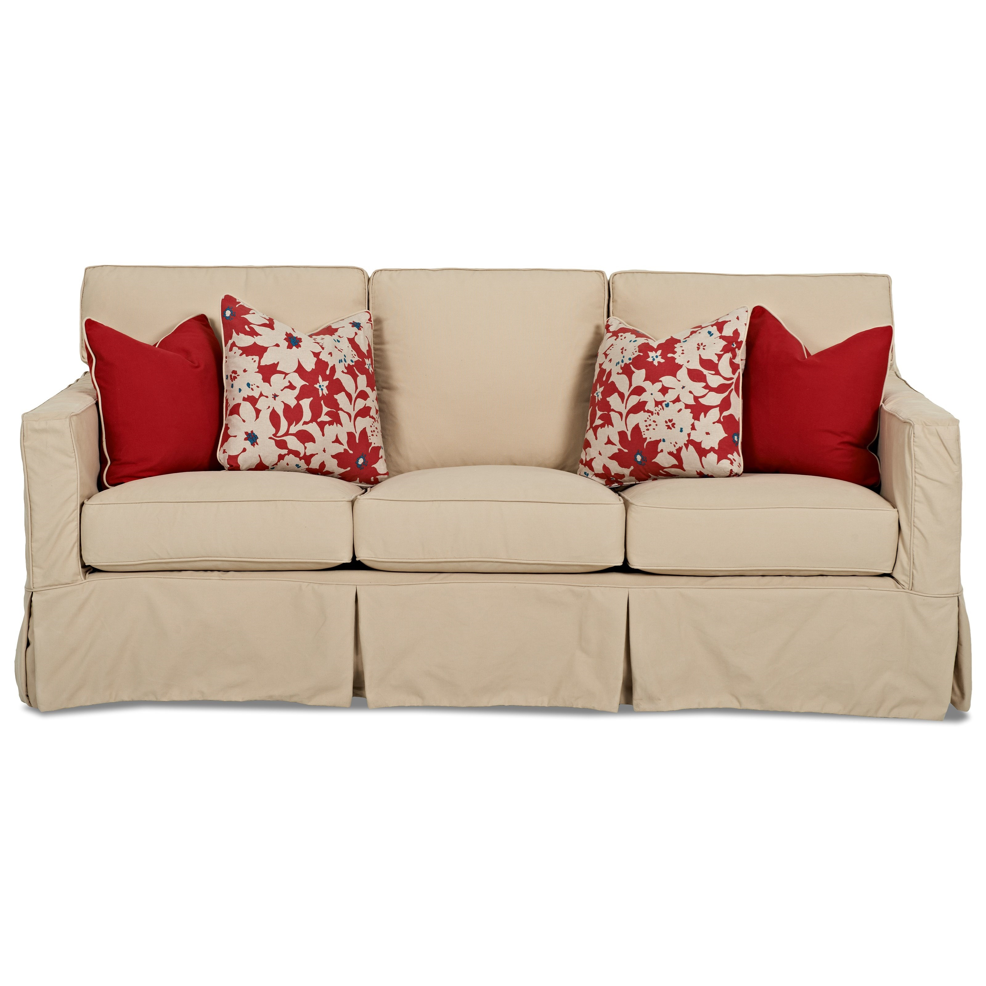 Extra Sofa with Slipcover by Klaussner