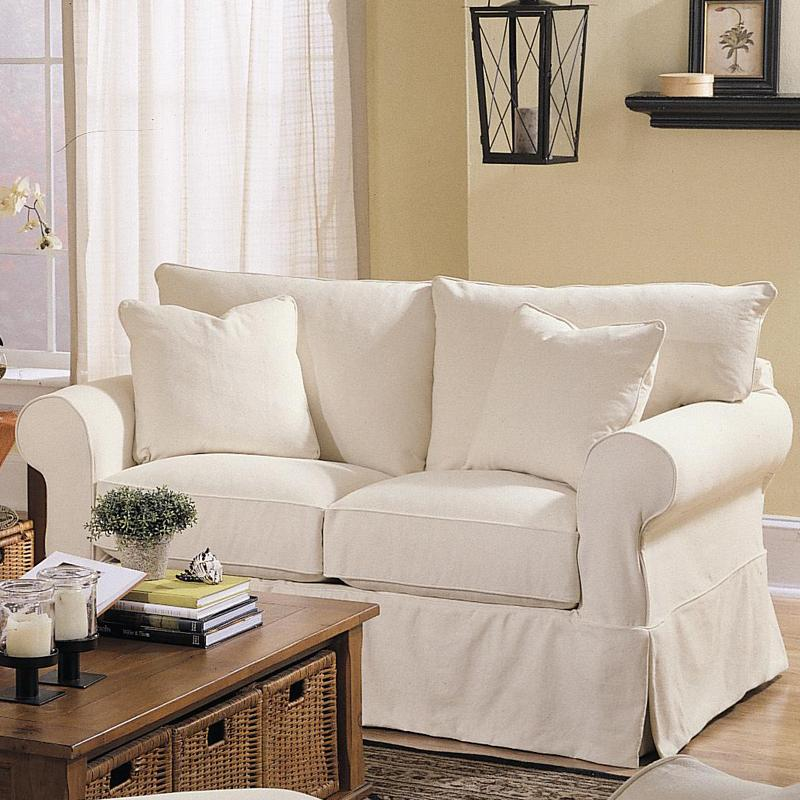 slipcover com fit loveseat sure chocolate stretch dp slipcovers pique piece amazon