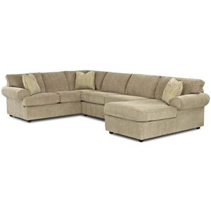 Klaussner Julington Sectional