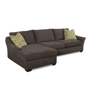 Klaussner k47700 Sectional Sectional with chaise