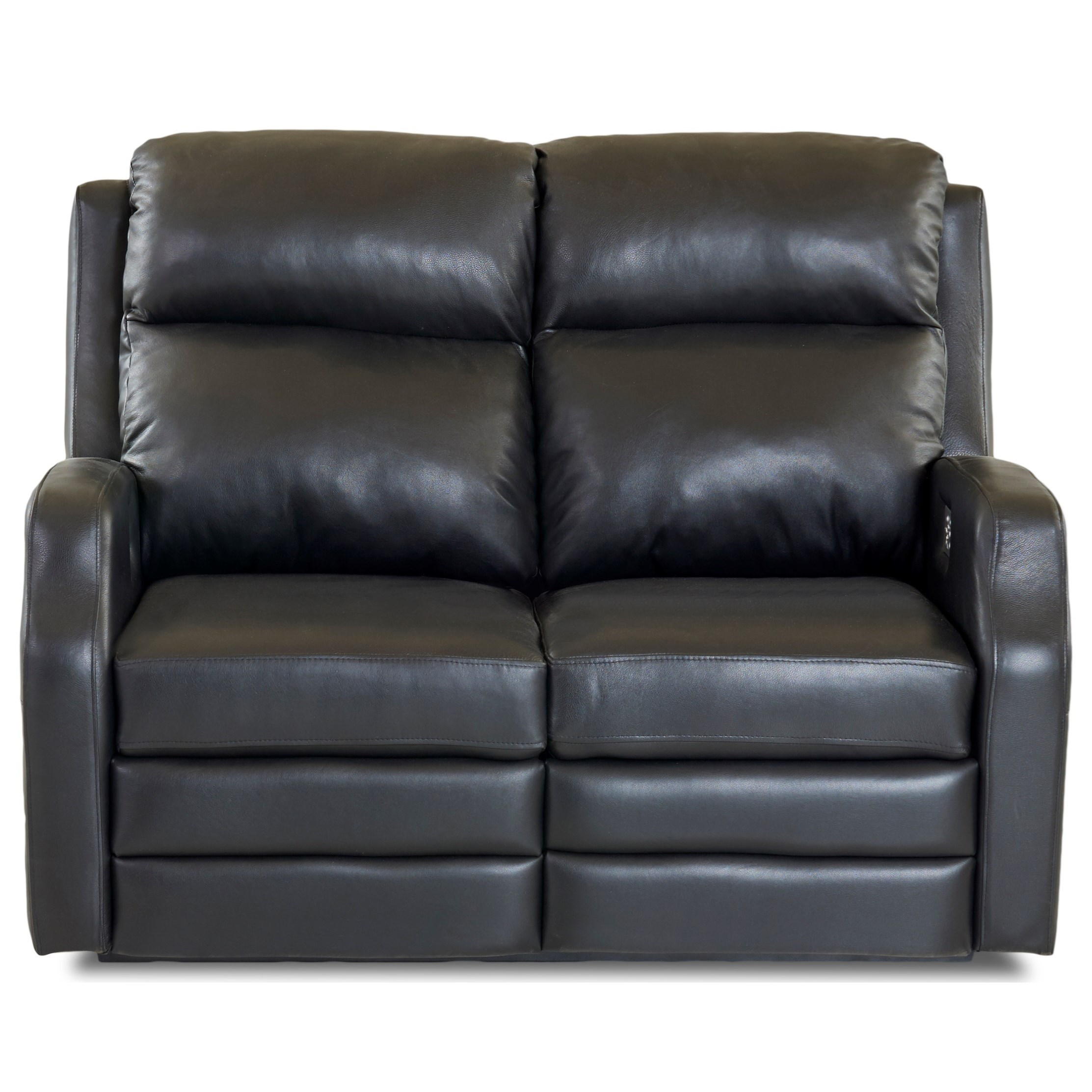 Power Reclining Loveseat with USB Charging Ports and Power Headrests / Lumbar