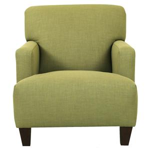 Klaussner Chairs and Accents Tanner Modern Arm Chair