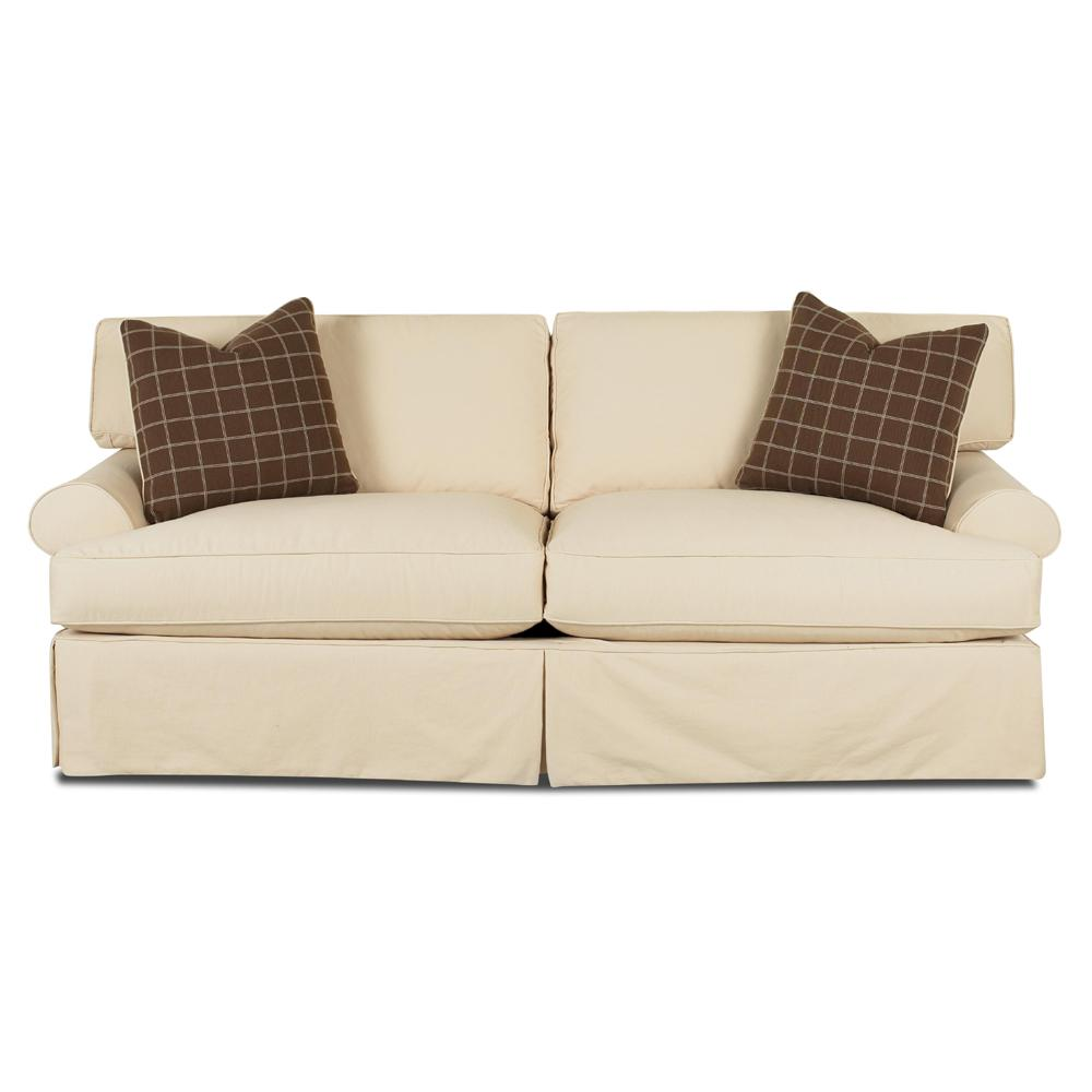 Perfect Sofa With Slipcover And Blend Down Cushions