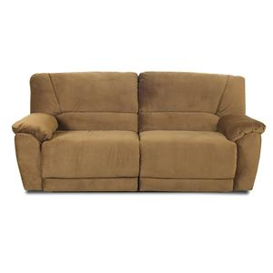 Klaussner Laredo  Microfiber Reclining Sofa
