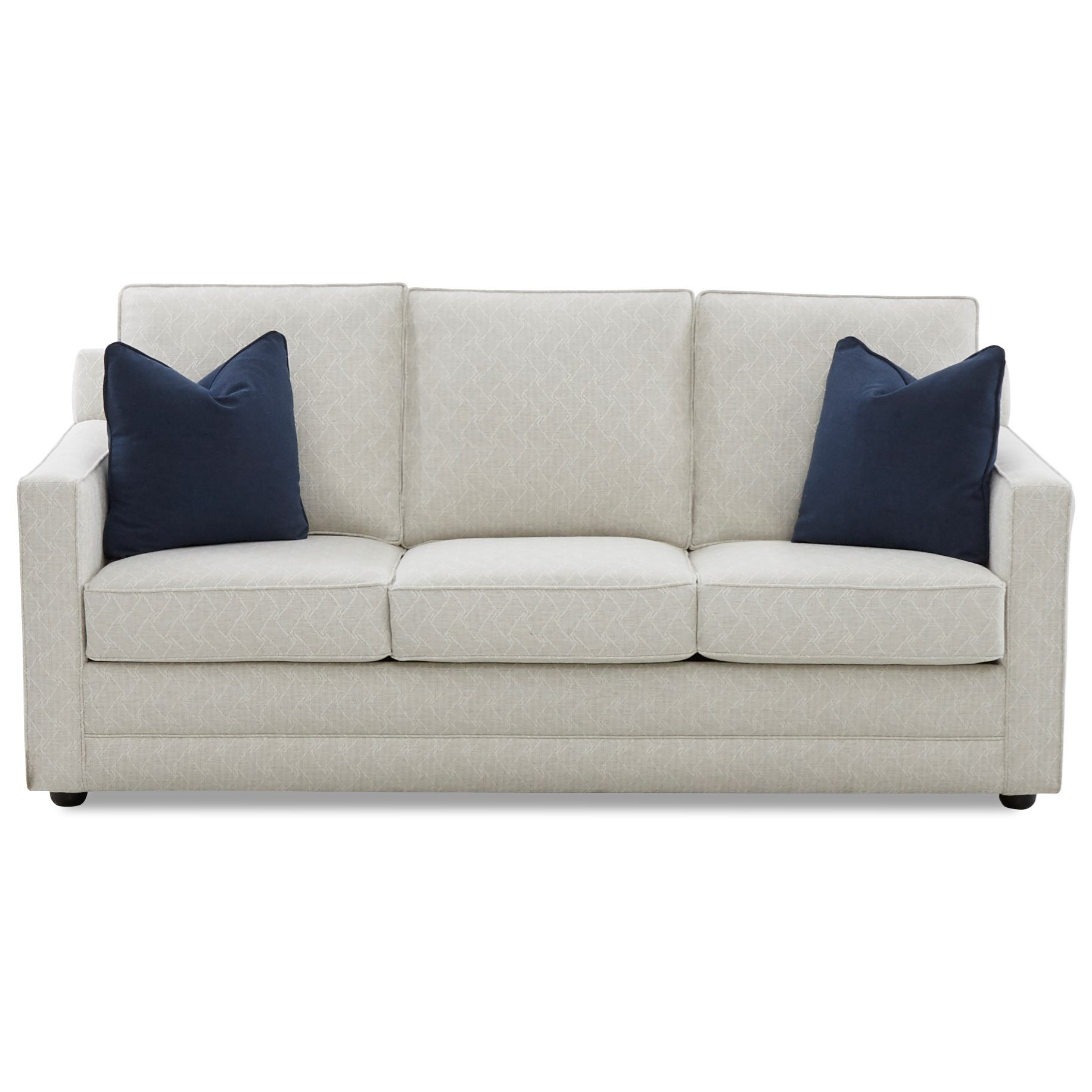 Contemporary 80 Inch Sleeper Sofa with Dreamquest Mattress