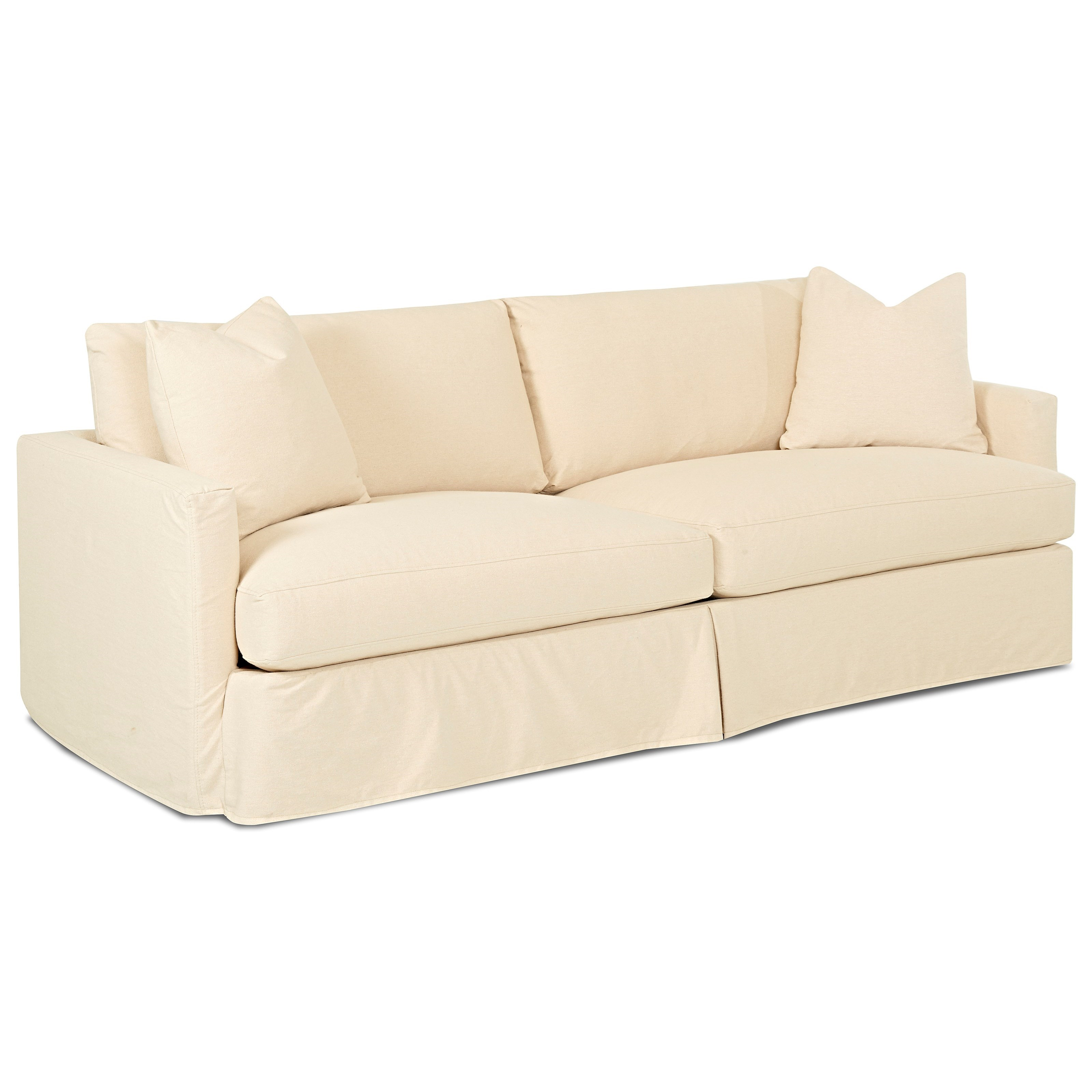 Sofa Covers Oversized: Extra Large Sofa With Slipcover By Klaussner