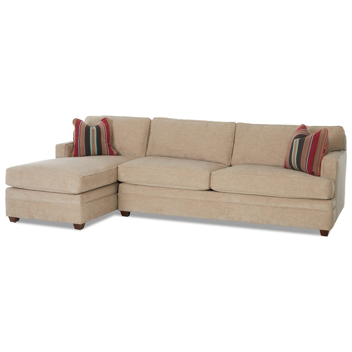 2-Piece Sectional Sofa with RAF Dreamquest Sleeper