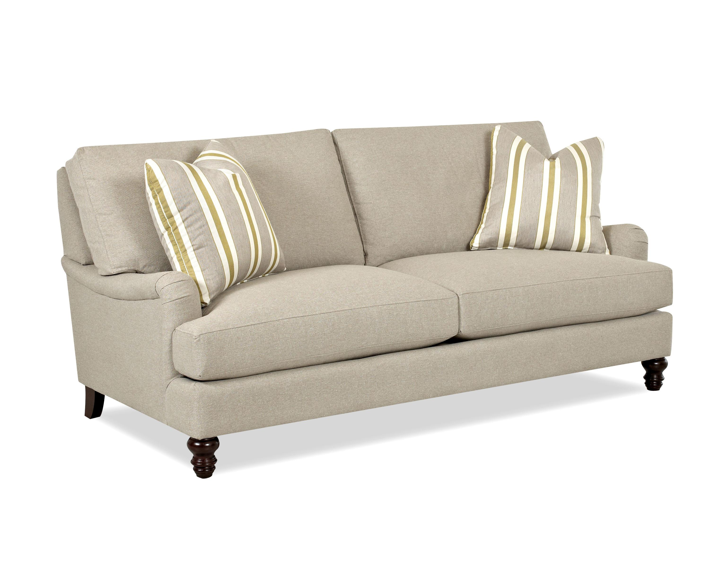london sofa Traditional Stationary Sofa with T Cushions and Charles of London  london sofa