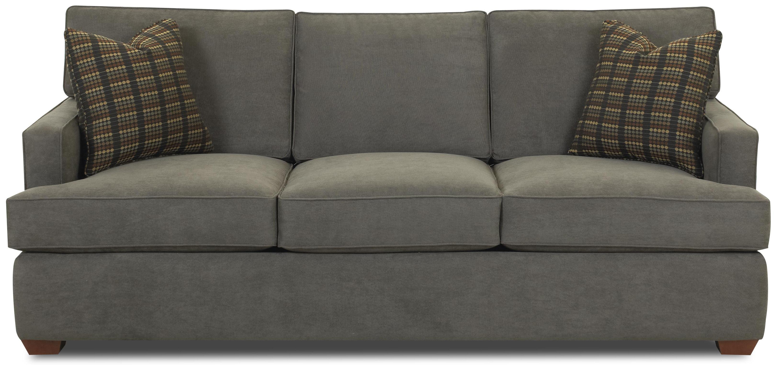 Contemporary Sofa with Track Arms