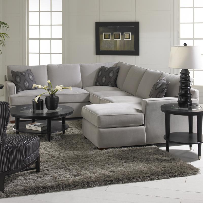 Sectional Sofa Group With Chaise Lounge By Klaussner