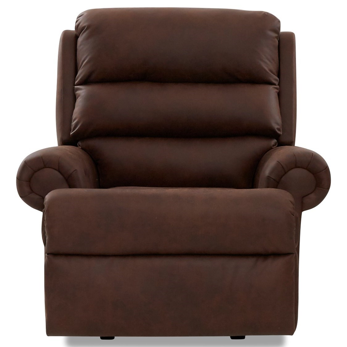 Power Reclining Rocking Chair with Rolled Arms and USB Charging Port