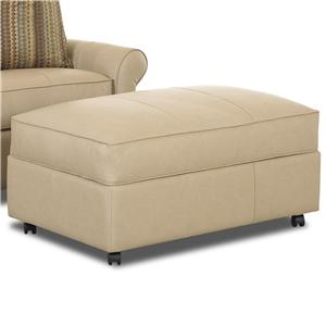 Morris Home Furnishings Mayhew Storage Ottoman
