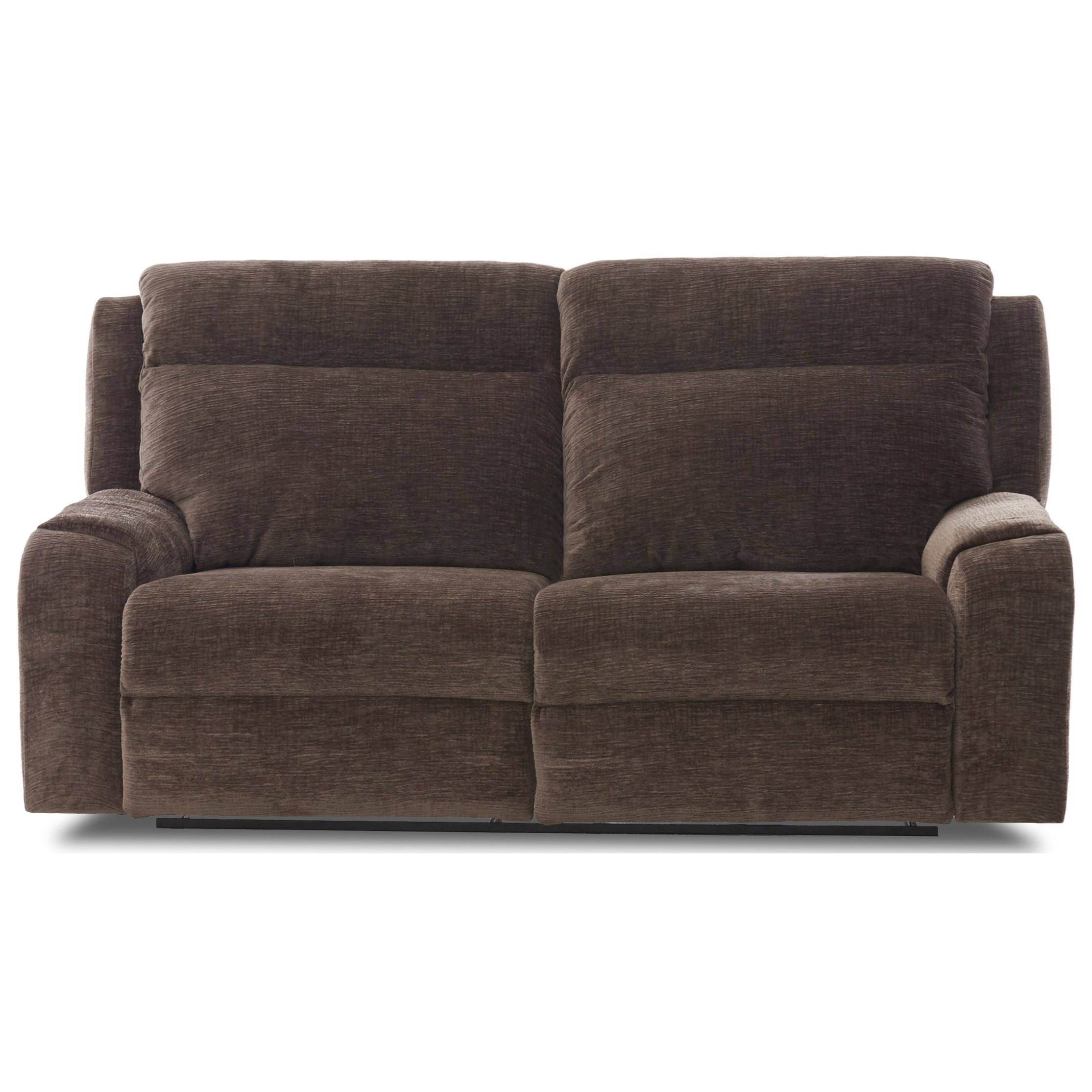 Two Seat Power Reclining Sofa with Wide Seats and USB Charging Ports
