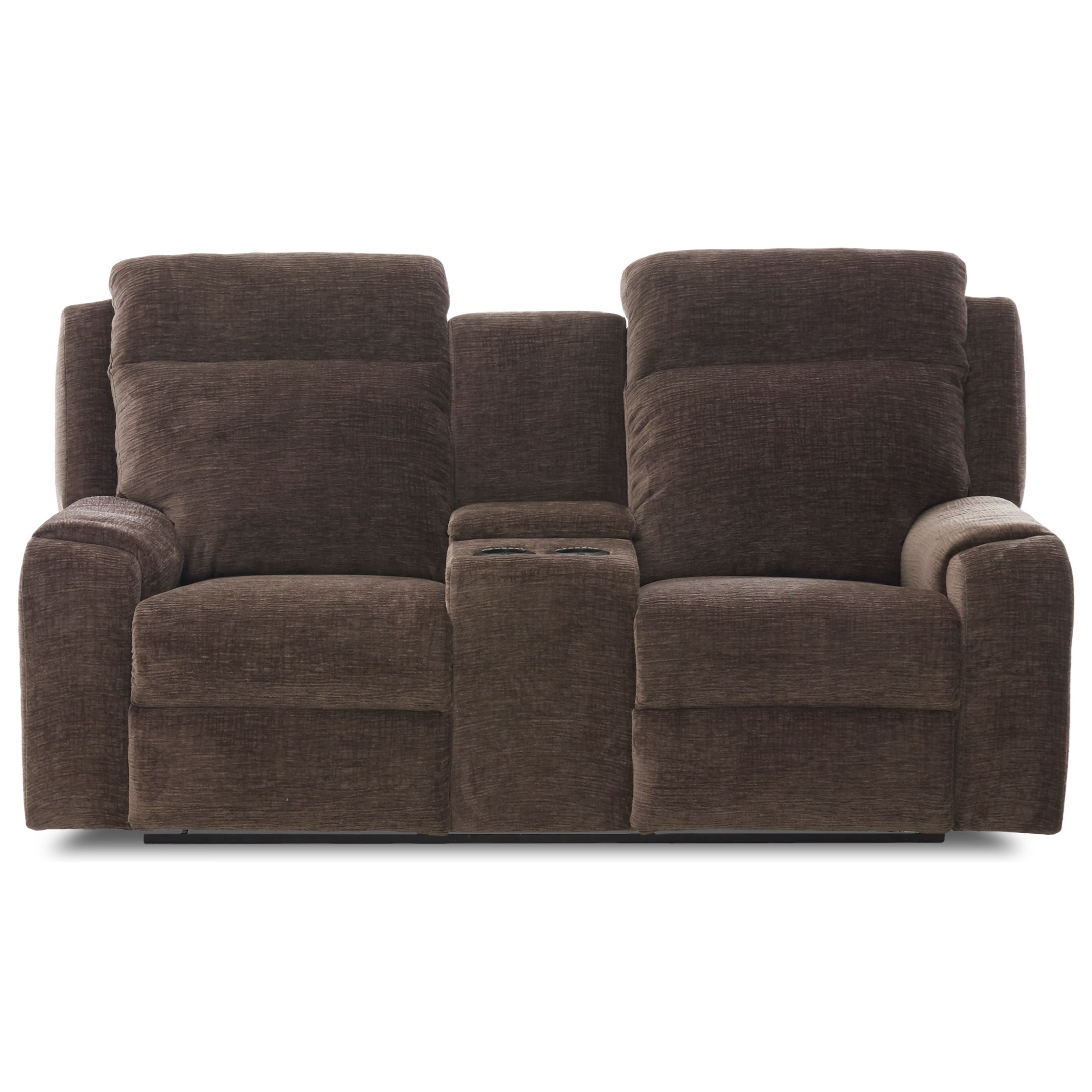Power Reclining Console Loveseat with Power Headrests and USB Charging Ports