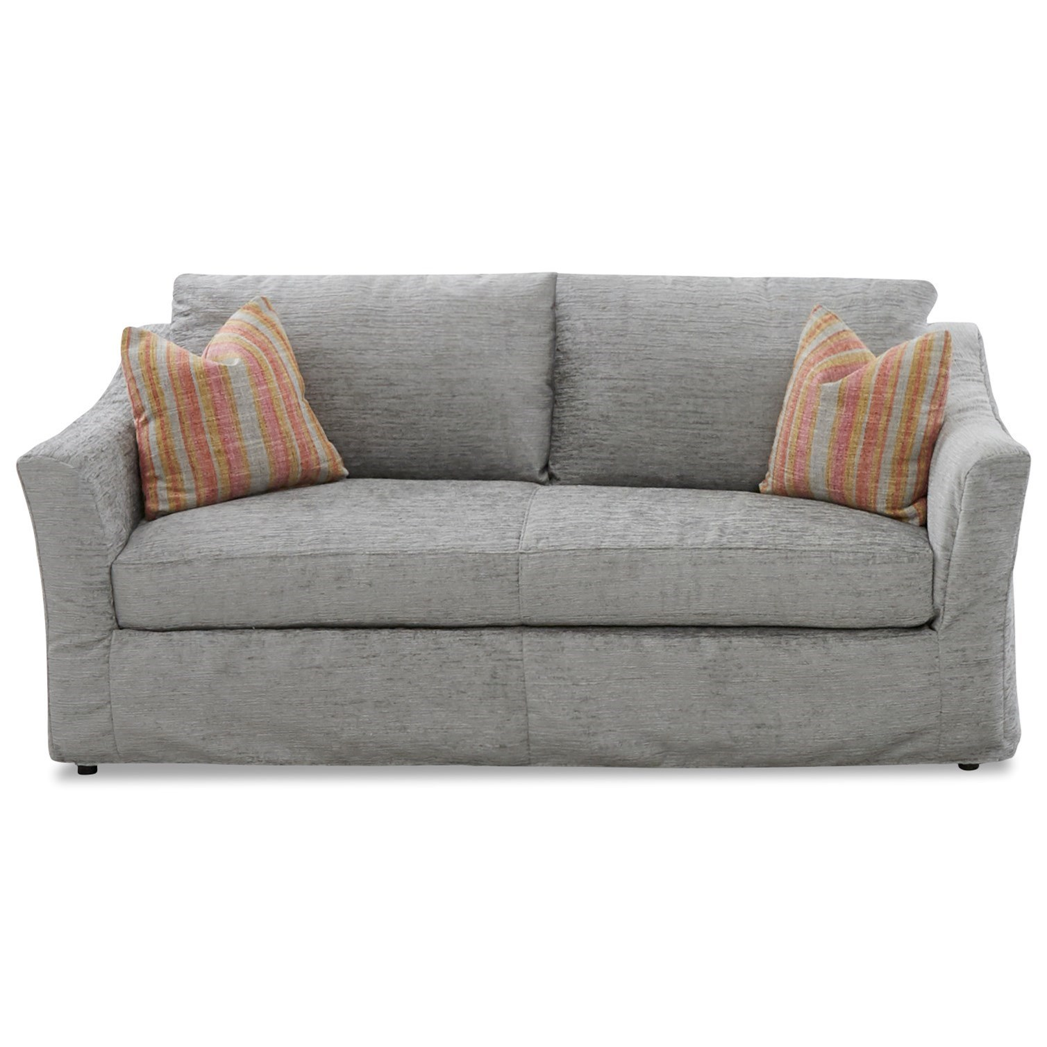 Slipcover Sofa with Down Blend Cushions