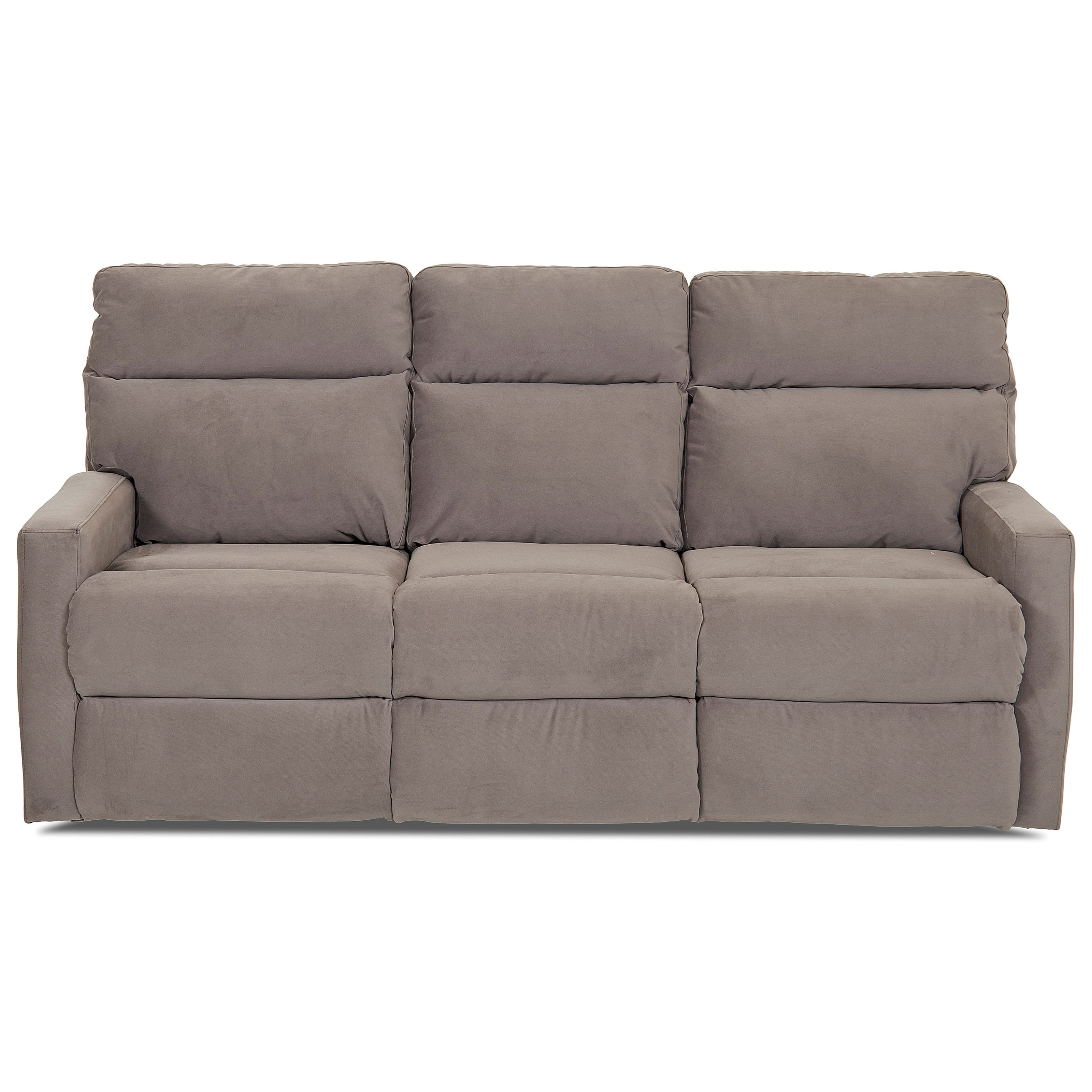 Reclining Sofa with Soft Track Arms