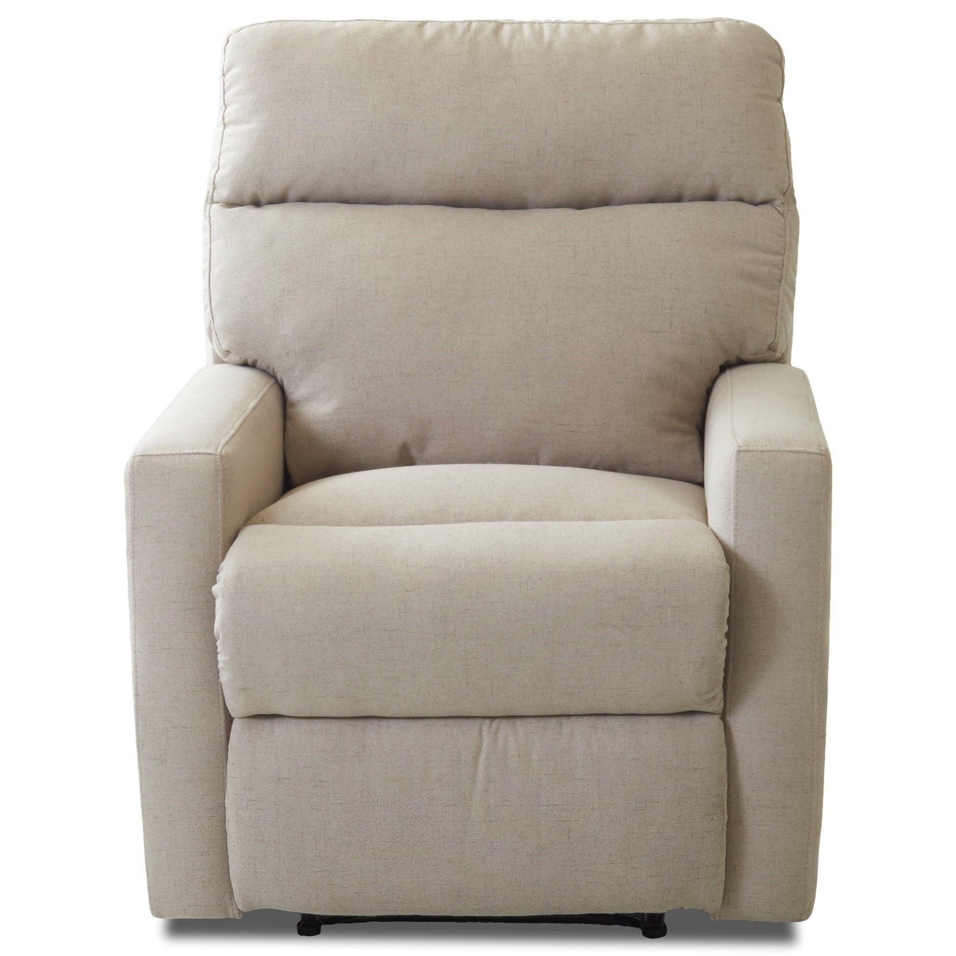 Reclining Chair with Soft Track Arms